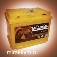Аккумул Тюмень медведь 60 а/ч п/п
